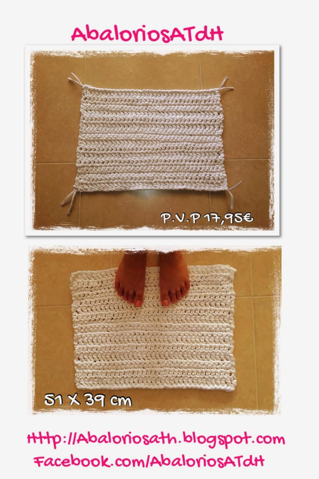 Abaloriosatdh alfombra de trapillo cuadrada - Alfombra de trapillo cuadrada ...