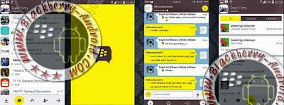 FREE BBM Mod Tema Kakaotalk Yellow and White NEW V2.8.0.21 Apk