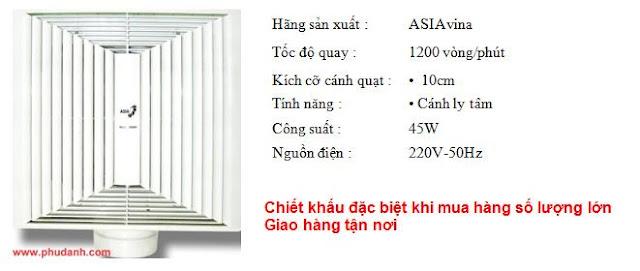 quat hut tran asia V04001