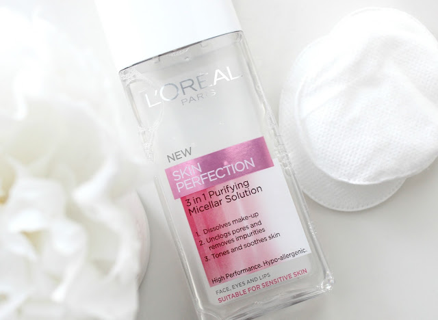 Loreal Skin Perfection Micellar Solution Review, Micellar Water, Bioderma Dupe, Loreal Micellar Water, Caudalie Cleansing Water