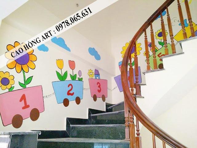 tranh tường