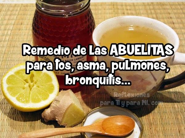 Recetas y Consejos para TI: *@ Remedio de LAS ABUELITAS