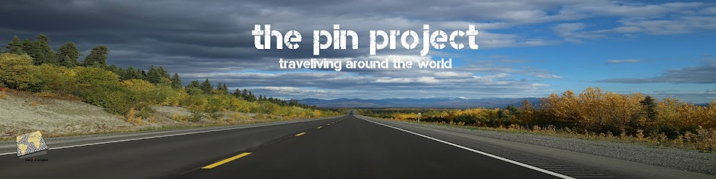 the pin project | traveliving around the world
