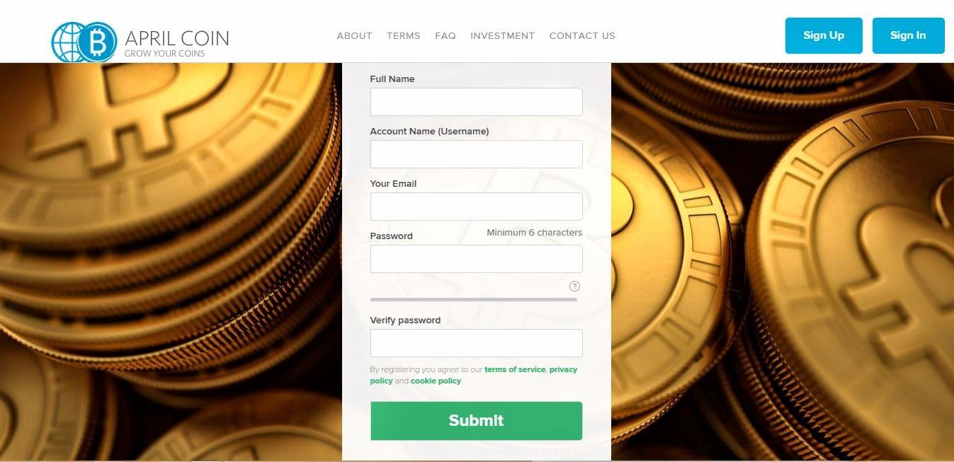 Investasi Bitcoin Menguntungkan Di AprilCoin + Payment Proof