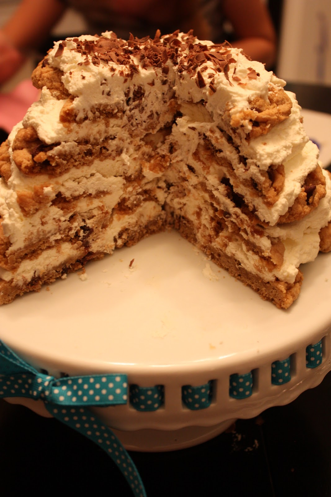 Christie's Cakes: Chocolate Chip Cookie Icebox Cake