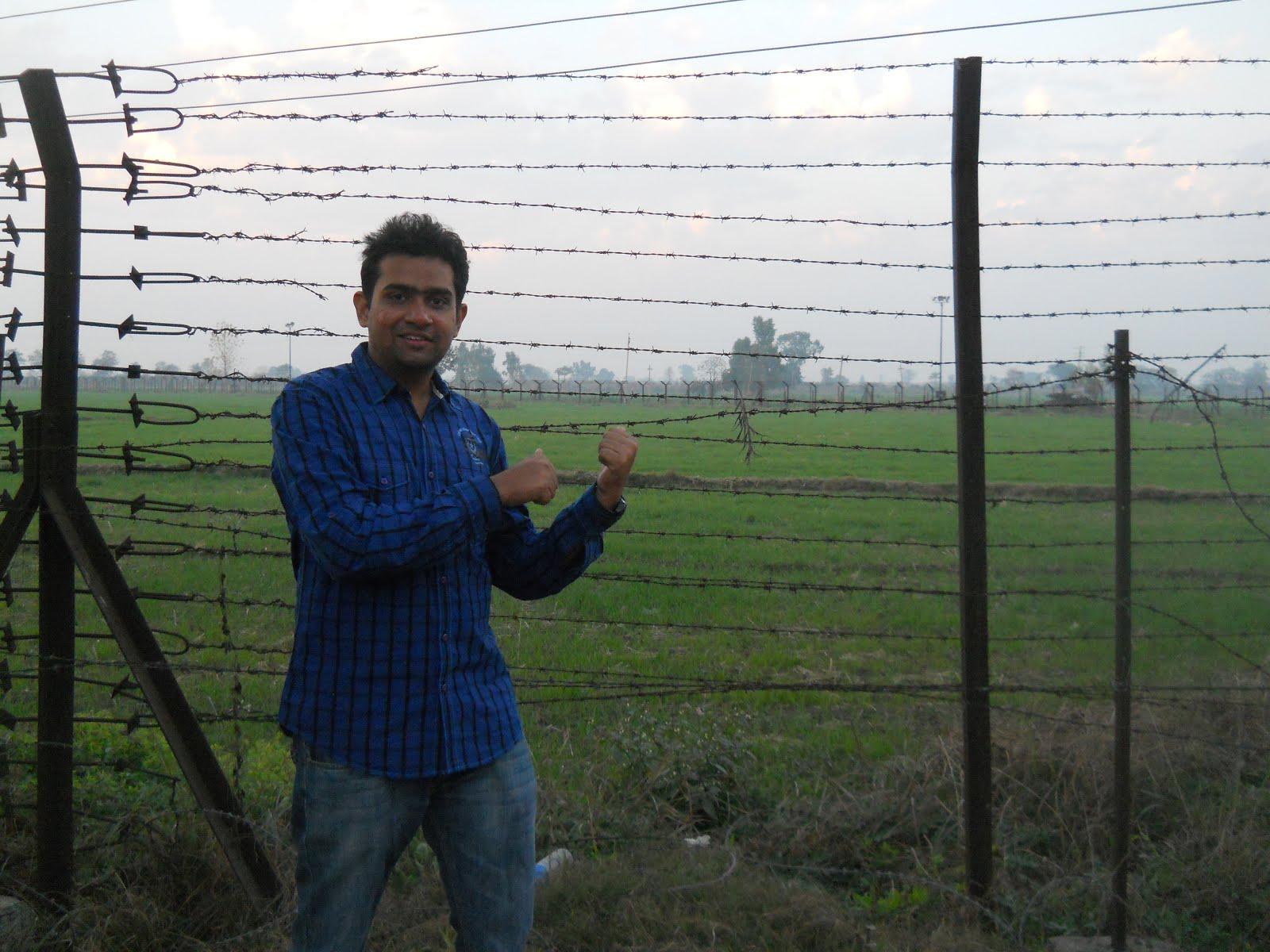 भारत पाकिस्तान सीमा दुसर्यांदा ! २०१४