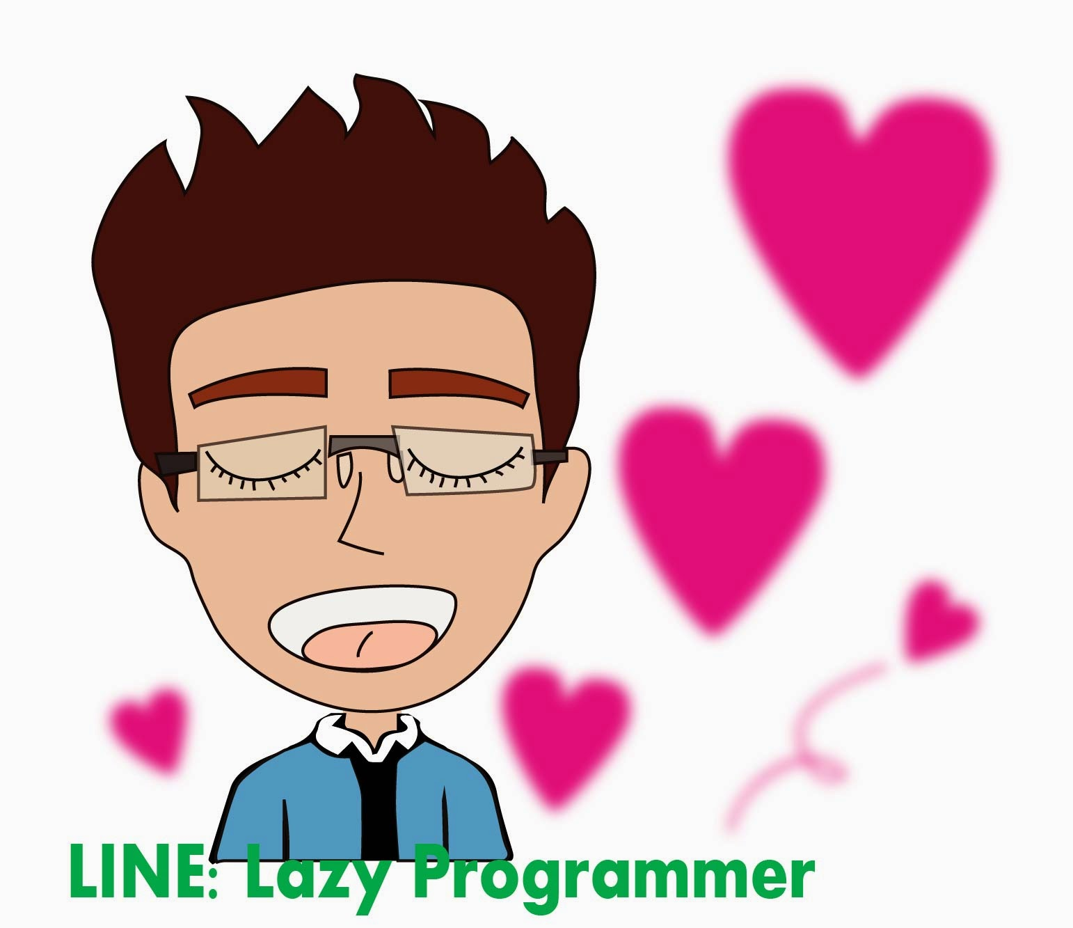 Get Line Sticker Lazy Programmer