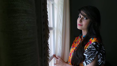 Recent Photos of Ayeza Khan on set of upcoming drama serial