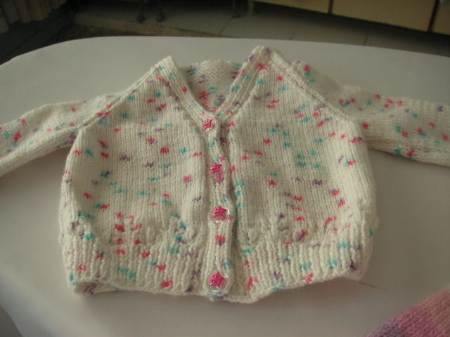 Knitting Pattern Baby Cardigan Free : Knitting Galore: Easy Baby Cardigan