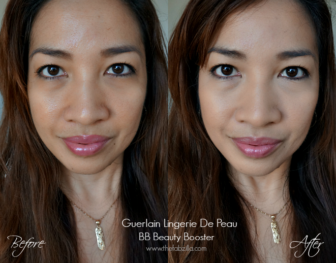 Guerlain Lingerie De Peau BB Beauty Booster, Review, Swatch, Before/After Photos