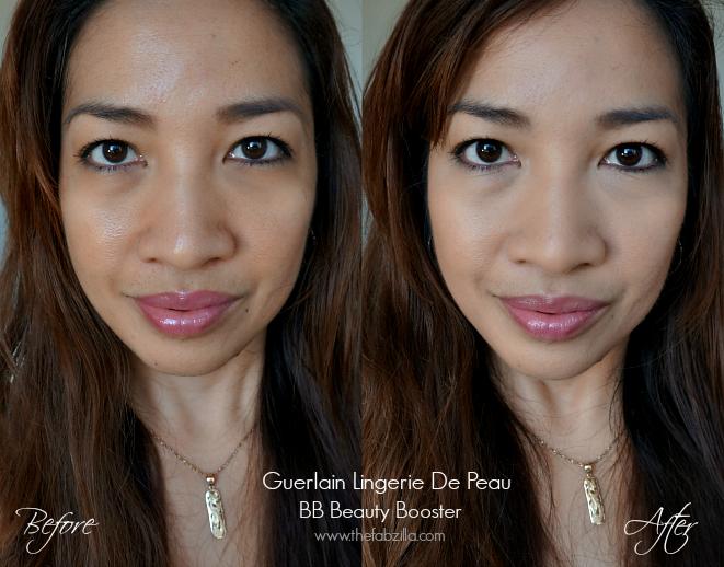Guerlain Lingerie De Peau BB Beauty Booster, Review, Swatch, Before/After Photos