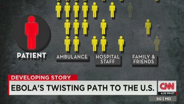 U.S. Healthcare Worker Tests Positive for Ebola