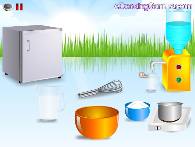 لعبة طبخ الجلي المنزلي