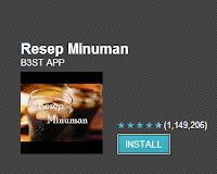 App Android Resep Minuman