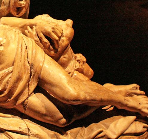 La Piedad de Miguel Ángel Buonarroti, (Renacimiento Italiano ...
