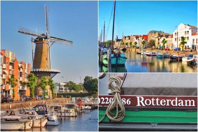Delfshaven en Rotterdam – Molino De Distilleerketel
