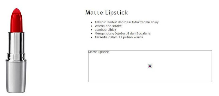 Matte Lipstick -$11