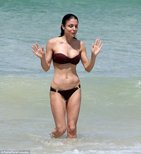 Bethenny Frankel in Bikini at Bondi Beach in Australia