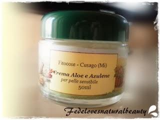 Crema Aloe e Azulene Fitocose