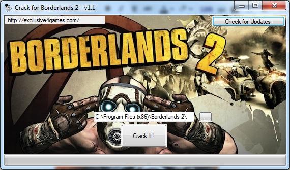 кряк для borderlands 1.4.1