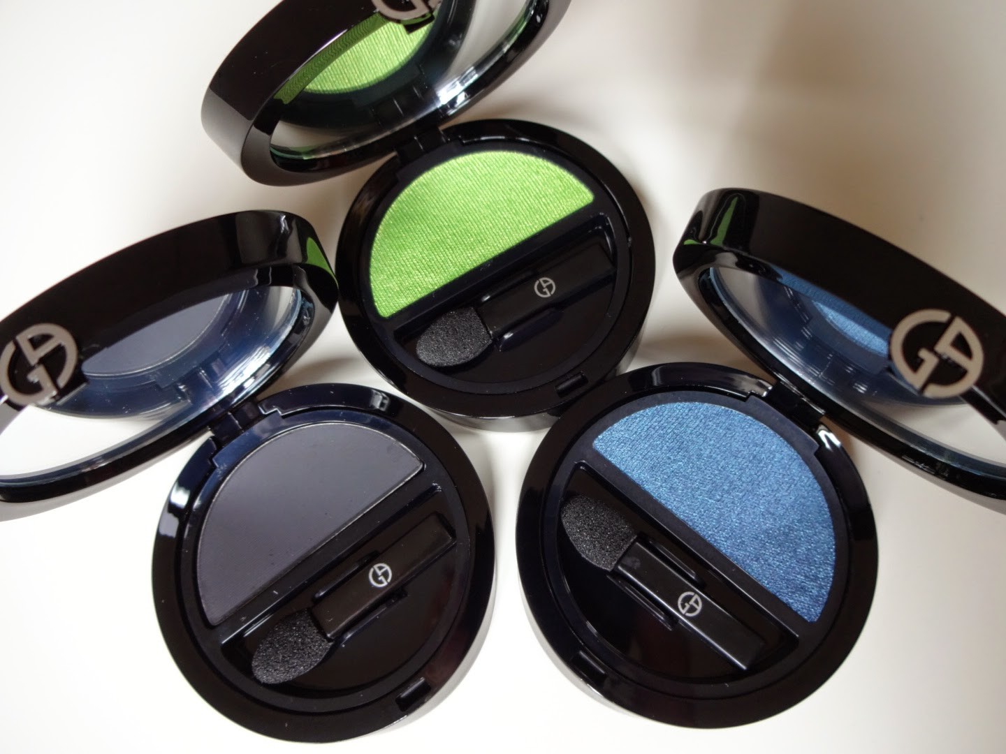 Giorgio Armani make up spring 2014 Eyes To Kill Solo Eyeshadow 1, 17, 18