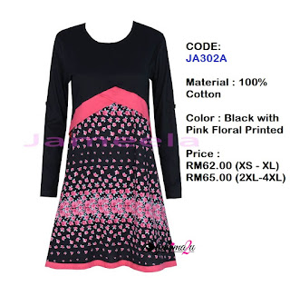 T-shirt-Muslimah-Jameela-JA302A