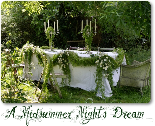 en midsommarnatts dröm, a midsummer night's dream, bröllop en midsommarnats dröm, wedding a midsummer night's dream