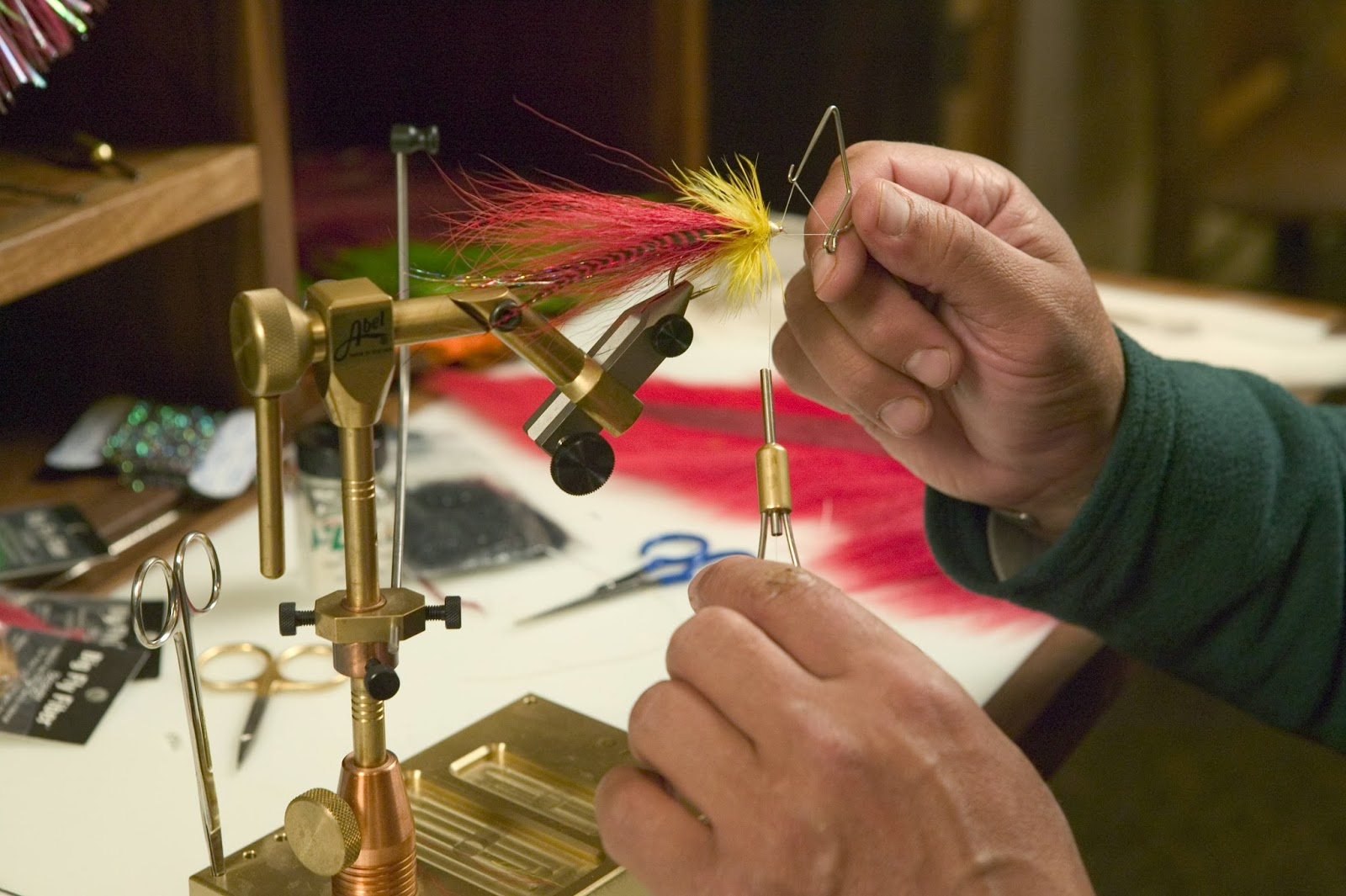 Progressive charlestown whiskey tango foxtrot the second for Fly fishing tying