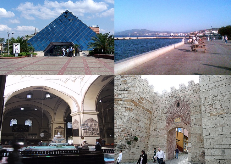 Bursa sightseeings in Turkey