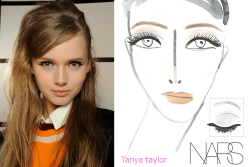 maquillaje ny fashion week 2013
