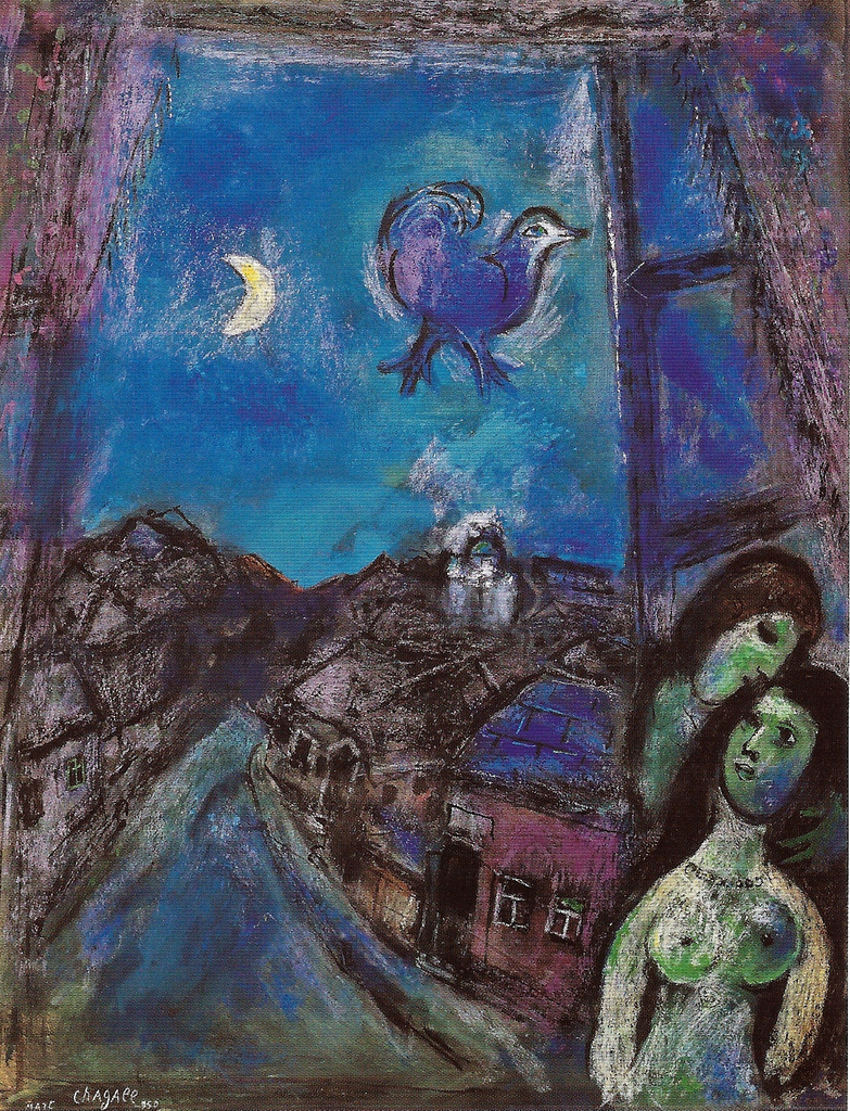 pinkpagodastudio: Marc Chagall--Love Chagall