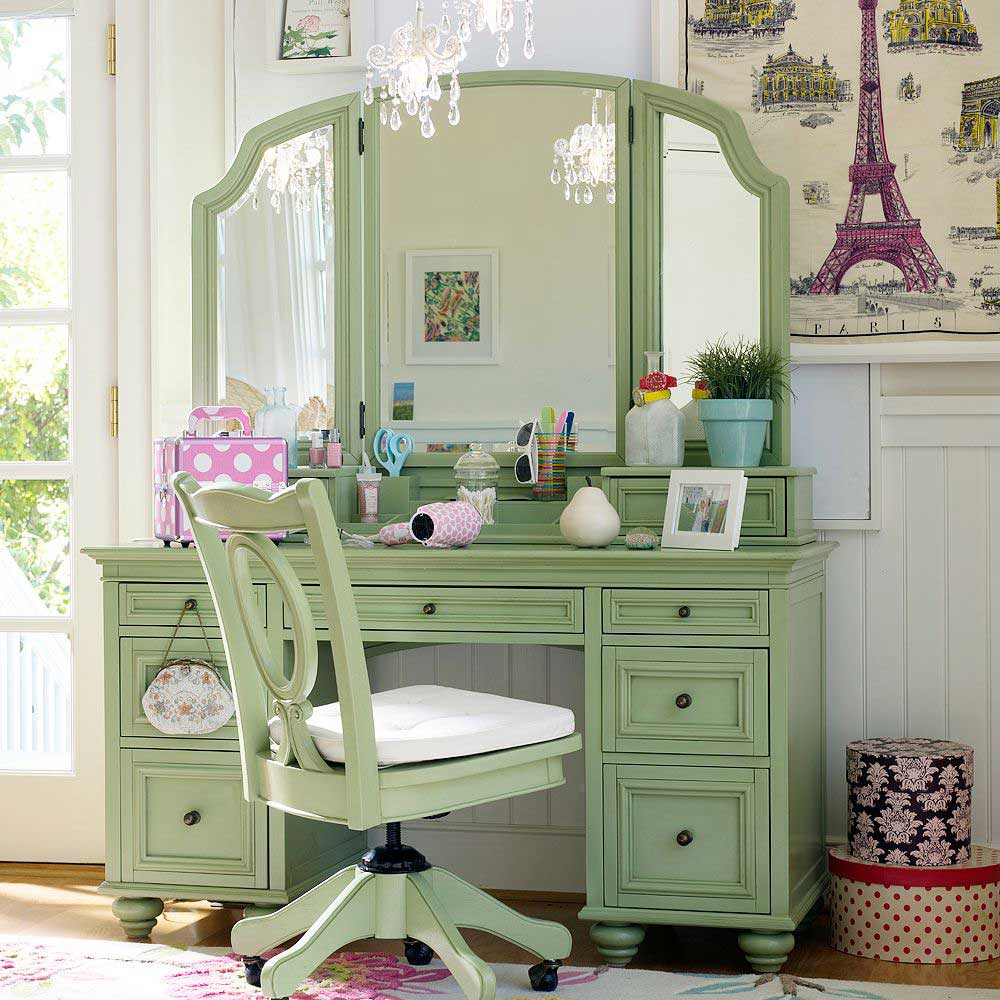 Owl design and custom dressing table for Bedroom dressing table