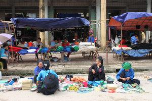 Sunday market in Hoàng Su Phì town