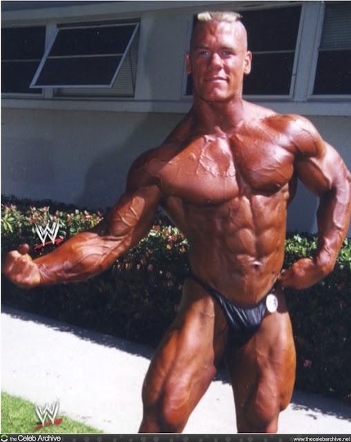 John Cena Bodybuilding Workout Mirin