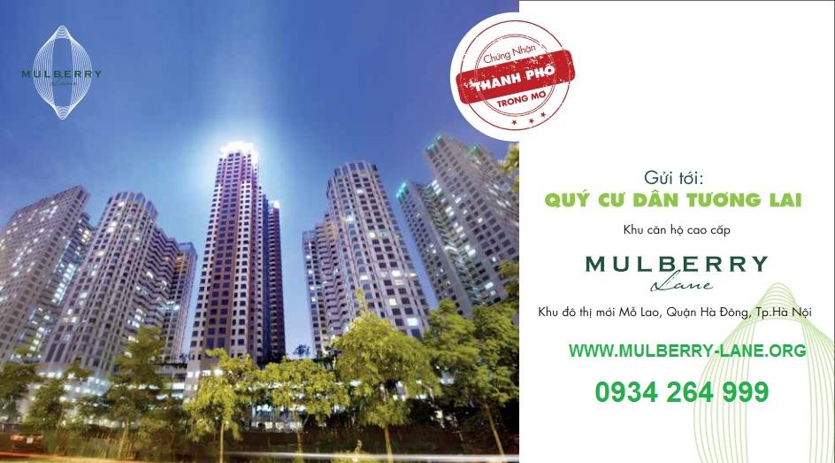 Mulberry Lane là giấc mơ của nhiều người dân tại Hà Nội