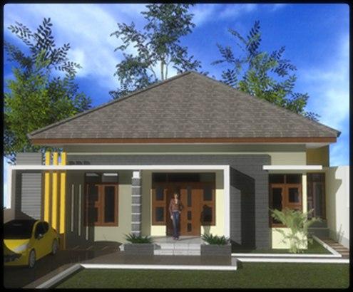 Desain Rumah Modern Minimalis 1 Lantai 2 Lantai Model Rumah