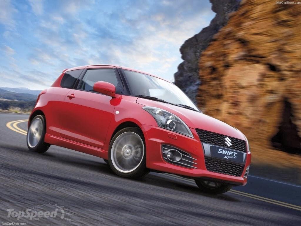 Maruti Suzuki Swift Sport Red Color Cars PicturesMaruti Swift White Sport