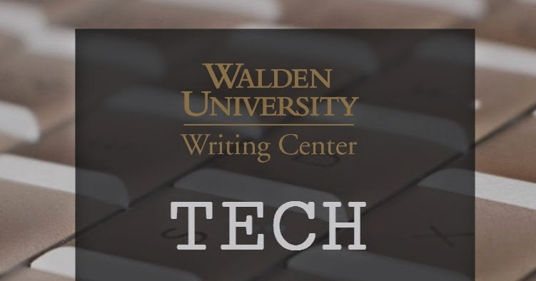 walden writing center Tutoring is a free service to all walden students offered through the walden university academic skills center please note.