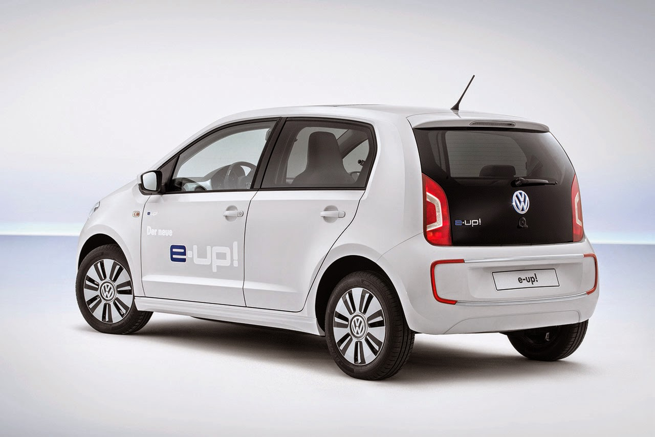 E Up, el coche eléctrico de Volkswagen