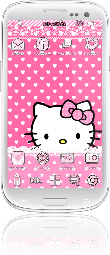 Hello Kitty Keyboard Themes Android Hello Kitty Themes