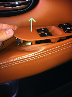 Lexus SC Door Panel Removal