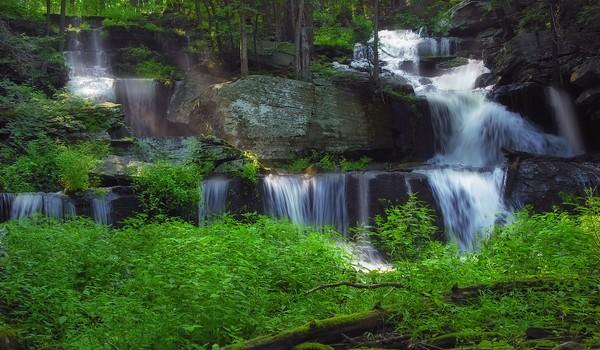 Cascadas Sawkill, Pike, Pensilvania