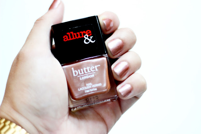butter LONDON x Allure Nail Lacquer in I'm On The List