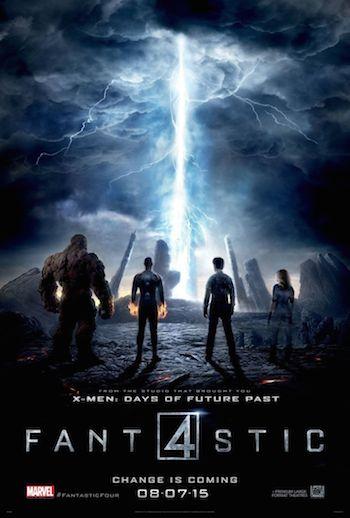 Fantastic Four 2015 Dual Audio [Hindi English] 720p HDRip 700mb