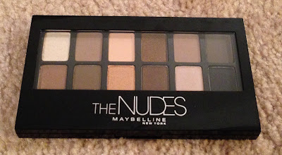 Maybelline, Maybelline The Nudes makeup palette, makeup palette, eye makeup, eyeshadow, eye shadow, giveaway, beauty giveaway, A Month of Beautiful Giveaways