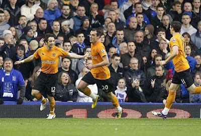 Everton 2 - 1 Wolverhampton Wanderers (2)