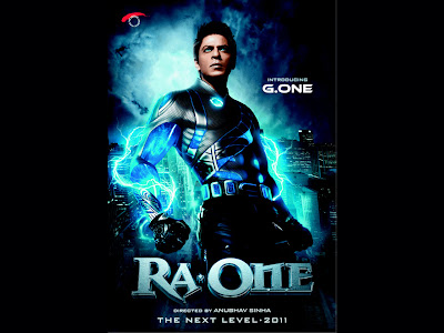 Download Ra One Movie Shahrukh Poster