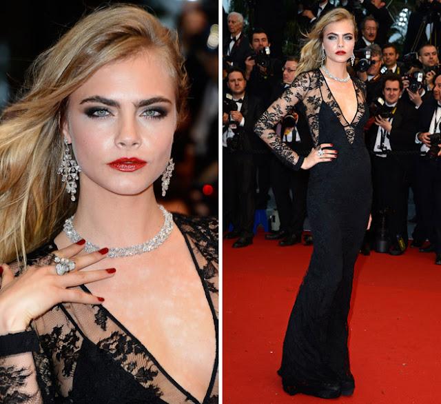Cara Delevigne Cannes