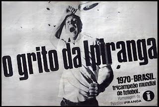 propaganda petróleo Ipiranga - 1970, Propaganda anos 70; História dos anos 70; Brazil in the 70s. Oswaldo Hernandez.