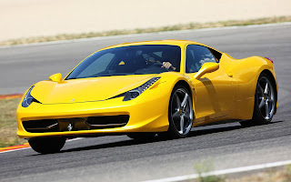 Ferrari 458 test drive